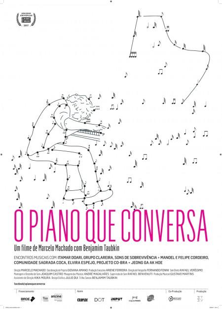 Poster do filme O Piano que Conversa