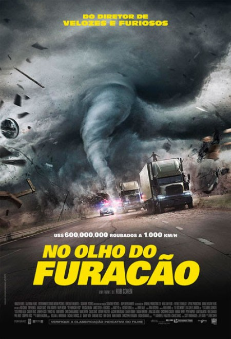 Poster do filme No Olho do Furacão