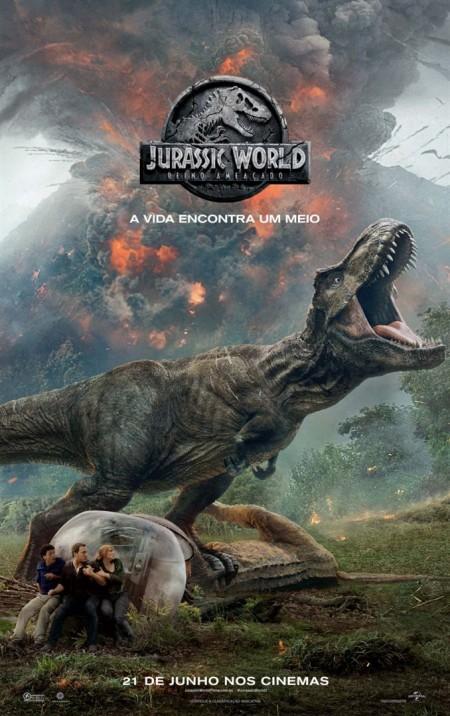 Poster do filme Jurassic World: Reino Ameaçado