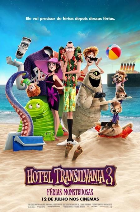 Poster do filme Hotel Transilvânia 3: Férias Monstruosas