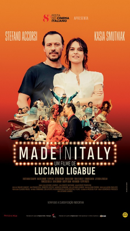 Poster do filme Made in Italy