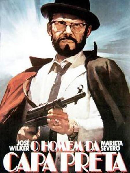 Poster do filme O Homem da Capa Preta