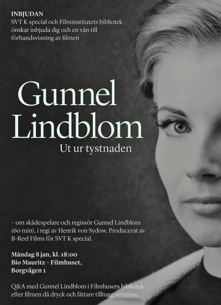 Poster do filme Gunnel Lindblom – Quebrando o Silêncio