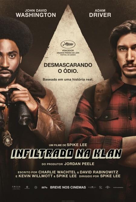 Poster do filme Infiltrado na Klan