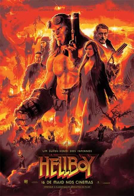 Poster do filme Hellboy