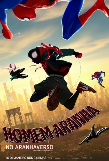 Poster do filme Homem-Aranha no Aranhaverso