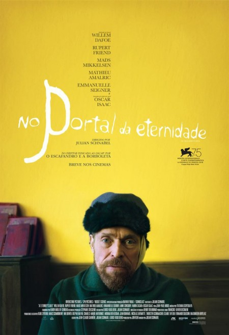 Poster do filme No Portal da Eternidade