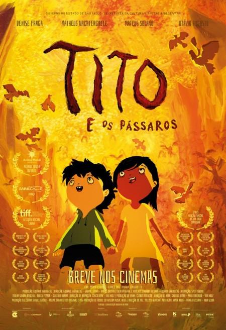 Poster do filme Tito e os Pássaros