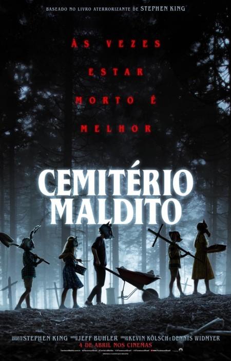 Poster do filme Cemitério Maldito