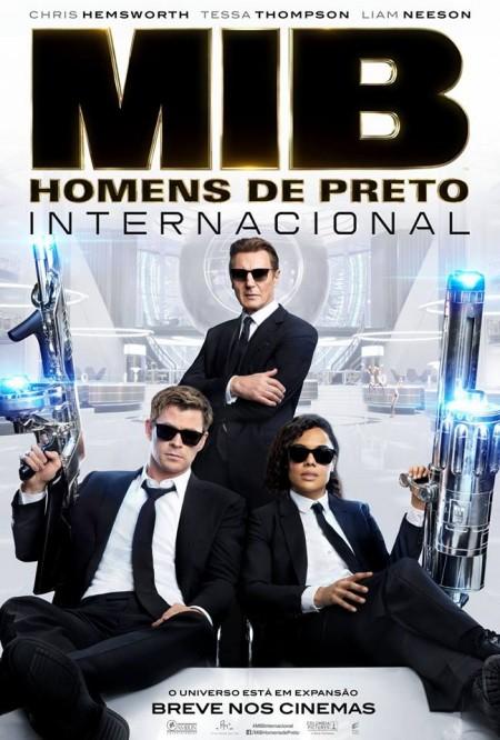 Poster do filme MIB: Homens de Preto - Internacional