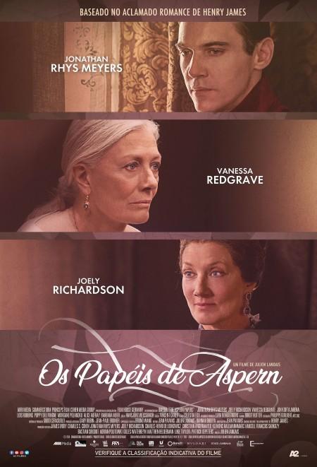 Poster do filme Os Papéis de Aspern