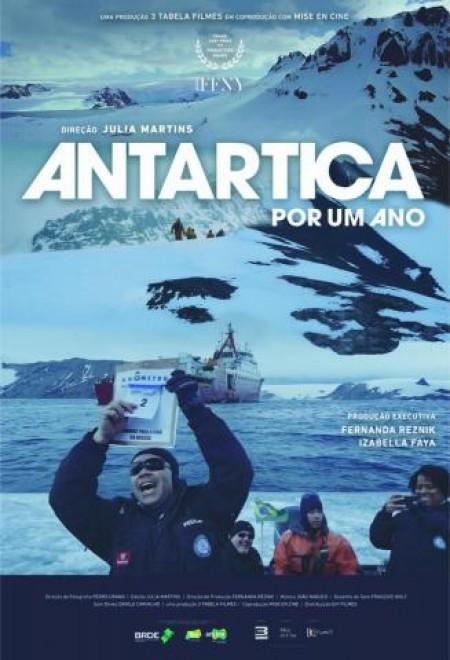 Poster do filme Antártica por um Ano