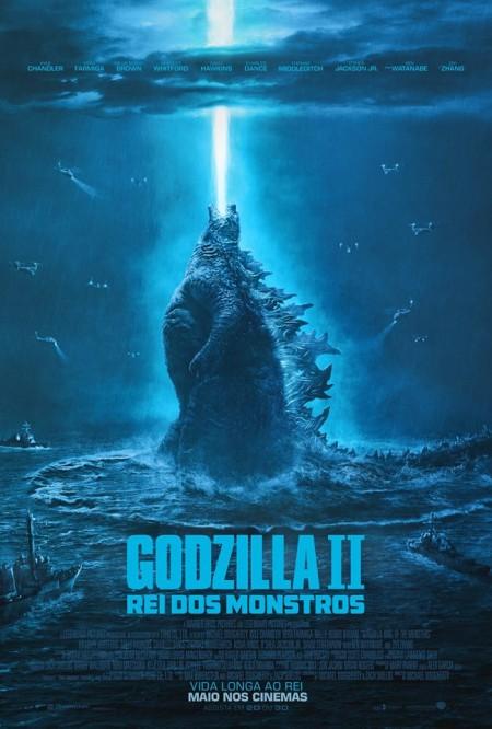 Poster do filme Godzilla II: Rei dos Monstros