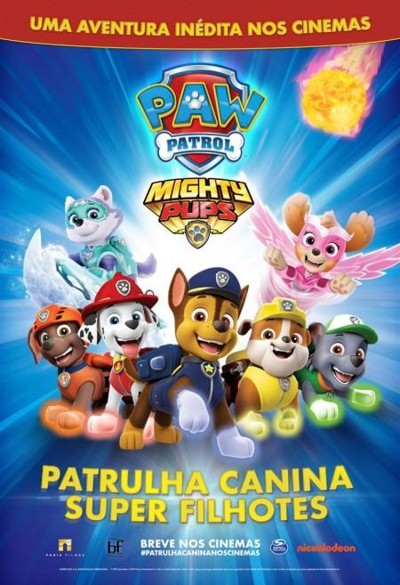 Poster do filme Patrulha Canina: Super Filhotes
