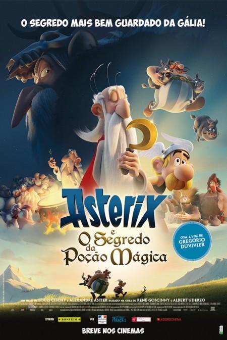 Poster do filme Astérix e o Segredo da Poção Mágica