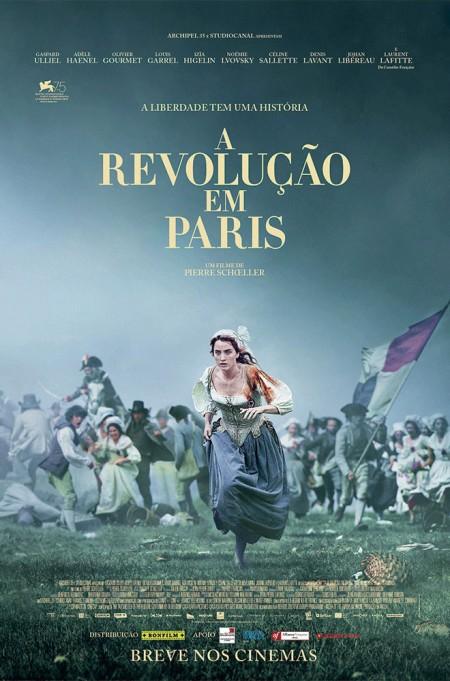 Poster do filme A Revolução em Paris
