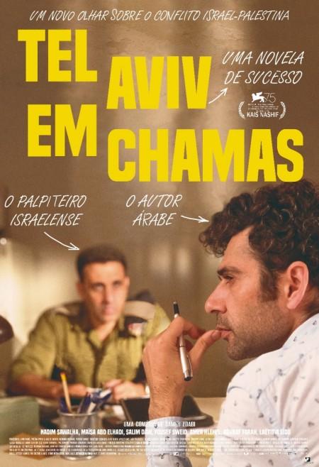 Poster do filme Tel Aviv em Chamas
