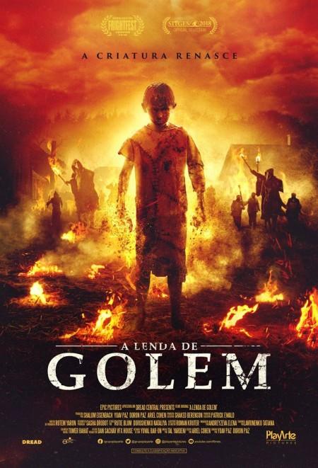 Poster do filme A Lenda de Golem