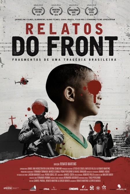 Poster do filme Relatos do Front - Fragmentos de uma Tragédia Brasileira