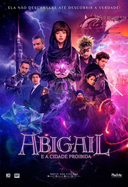 Poster do filme Abigail e a Cidade Proibida