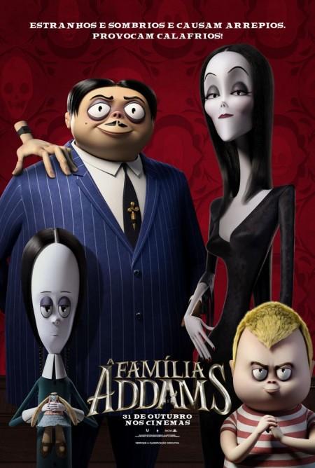 Poster do filme A Família Addams