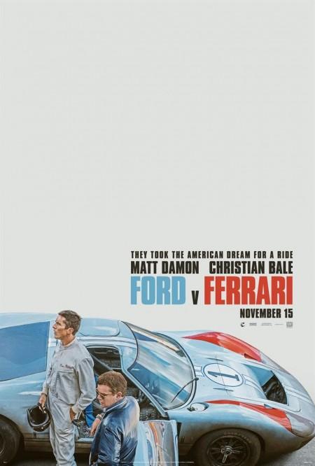 Poster do filme Ford vs. Ferrari