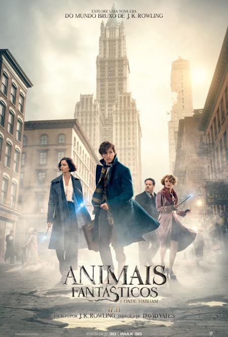 Poster do filme Animais Fantásticos e Onde Habitam