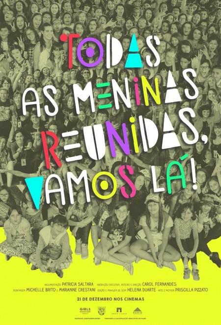 Poster do filme Todas As Meninas Reunidas, Vamos Lá