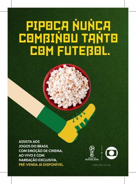 Poster do filme Copa no Cinema: Brasil x Servia