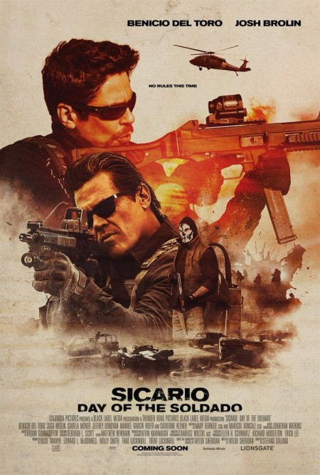 Poster do filme Sicario: Dia do Soldado