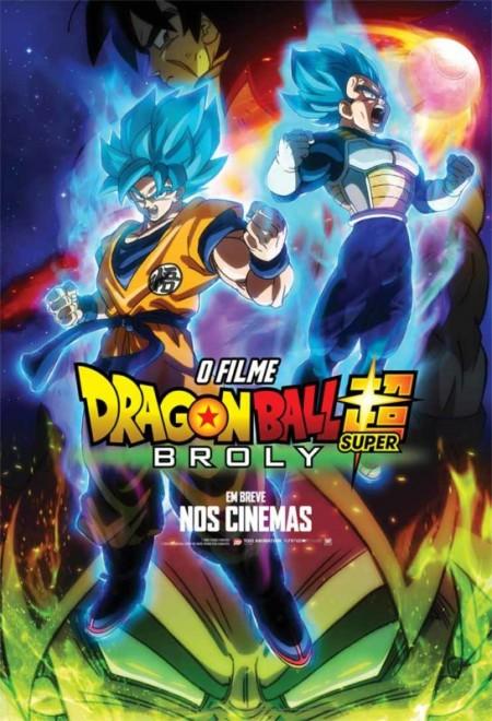 Poster do filme Dragon Ball Super Broly - O filme