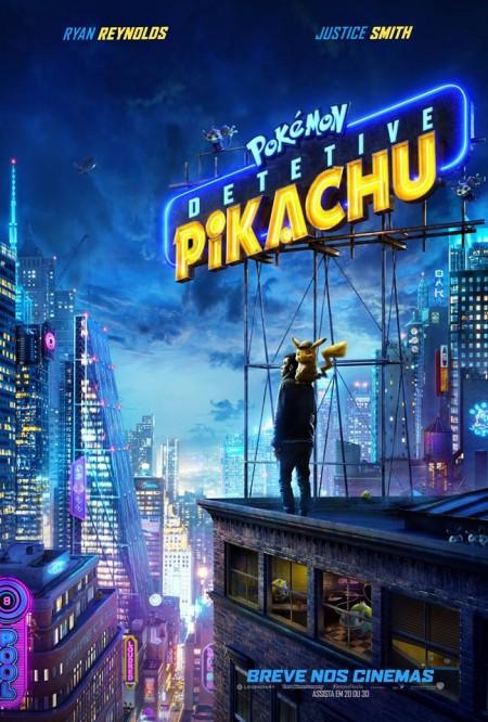 Poster do filme Pokémon: Detetive Pikachu