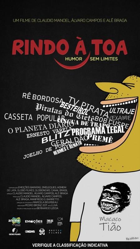 Poster do filme Rindo à Toa - Humor sem Limites