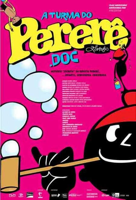 Poster do filme A Turma do Pererê.Doc