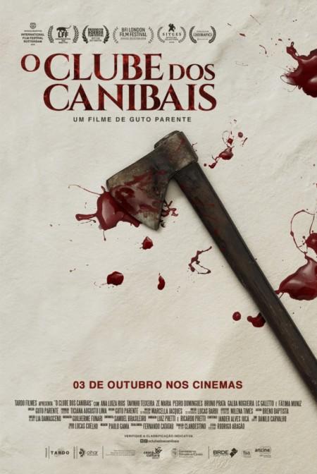 Poster do filme O Clube dos Canibais