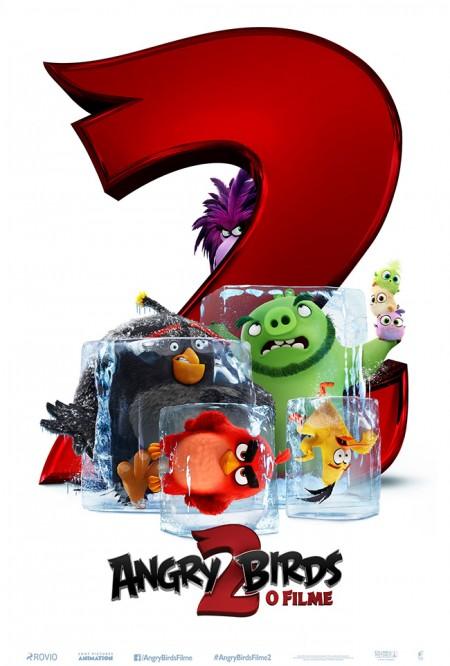 Poster do filme Angry Birds 2 - O Filme