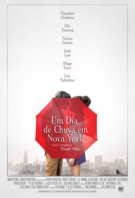 Poster do filme Um Dia de Chuva em Nova York