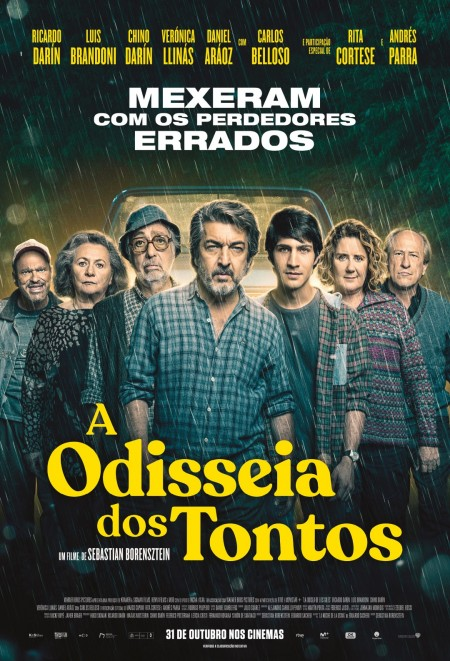 Poster do filme A Odisseia dos Tontos