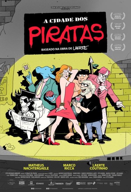 Poster do filme A Cidade dos Piratas