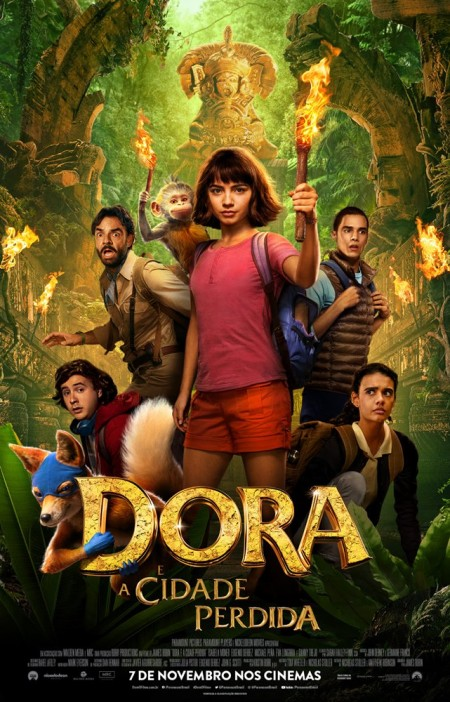 Poster do filme Dora e a Cidade Perdida