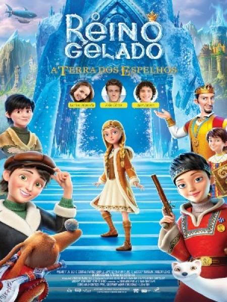 Poster do filme O Reino Gelado: A Terra dos Espelhos