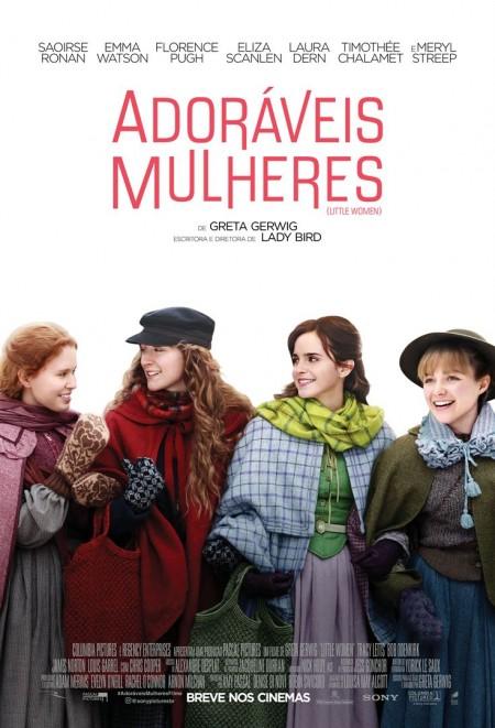 Poster do filme Adoráveis Mulheres