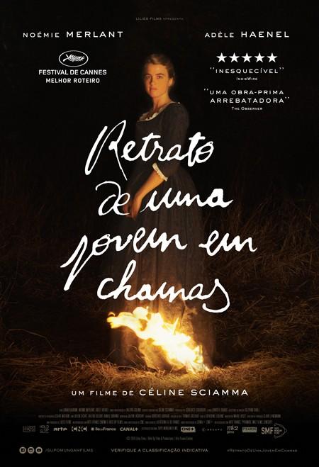 Poster do filme Retrato de uma Jovem em Chamas