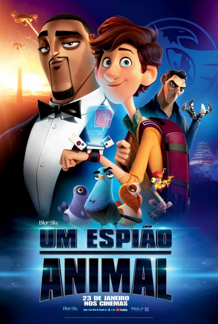 Poster do filme Um espião animal