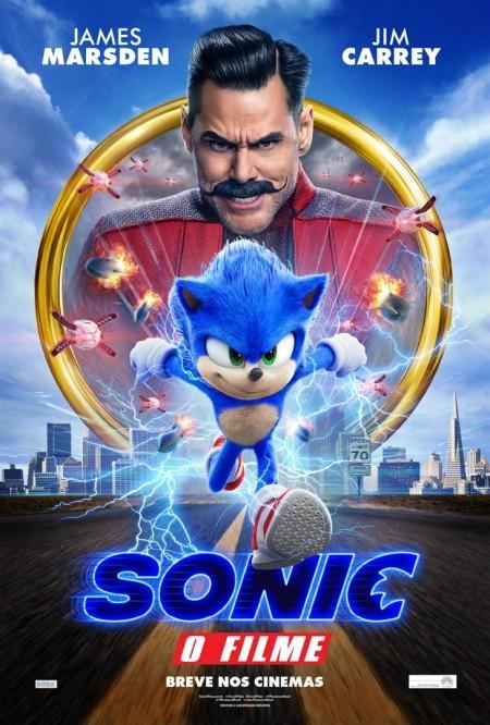 Poster do filme Sonic - O Filme