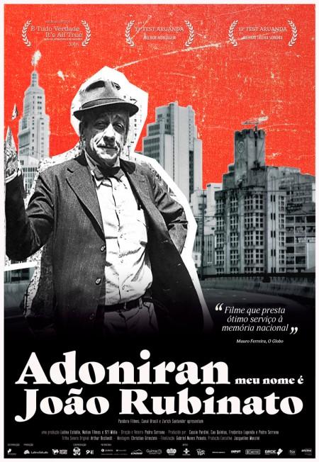 Poster do filme Adoniran, Meu Nome é João Rubinato