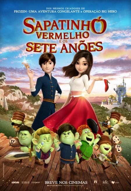 Poster do filme Sapatinho Vermelho e os Sete Anões