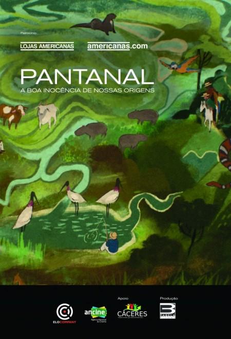 Poster do filme Pantanal, a Boa Inocência de Nossas Origens