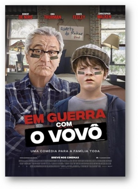 Poster do filme Em Guerra com o Vovô