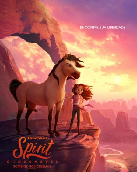 Poster do filme Spirit - O Indomável